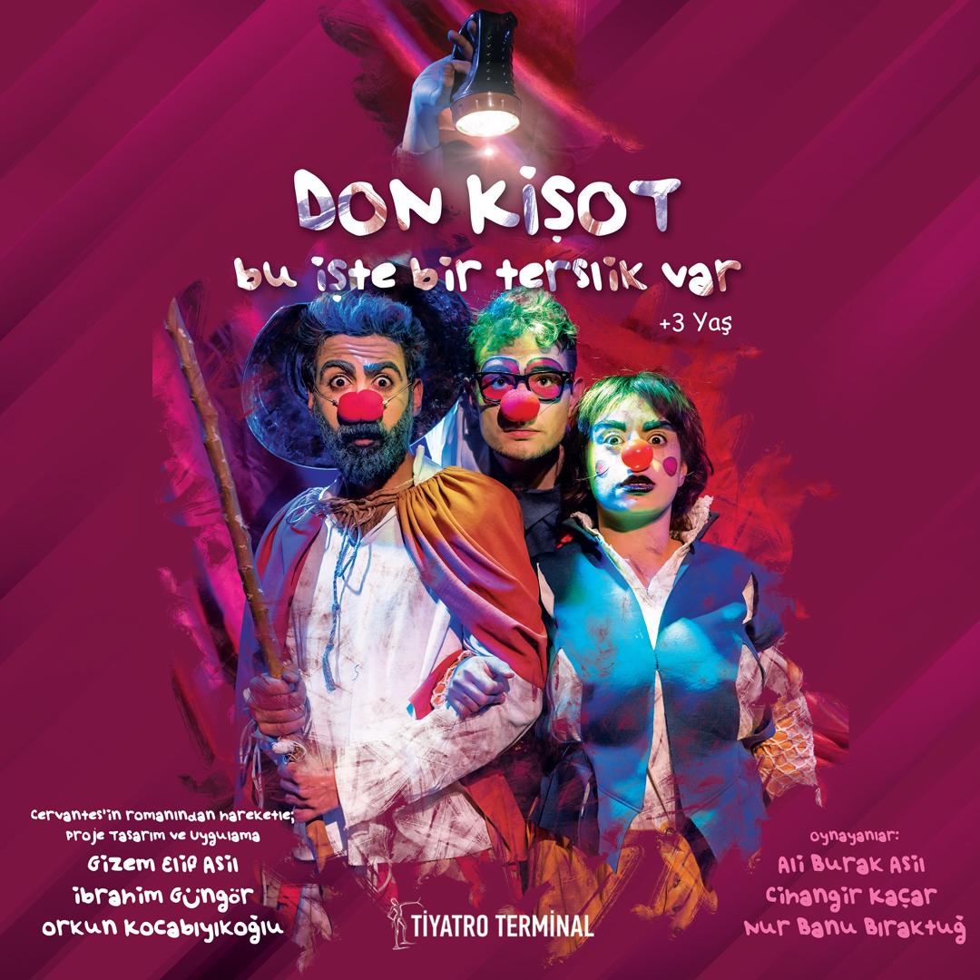 Don Kişot (+3 yaş)